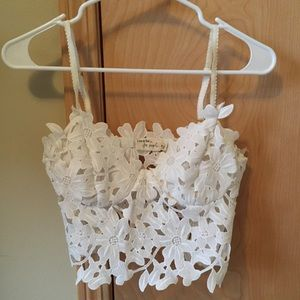 Line and Dot for Free People Lace Bustier Top